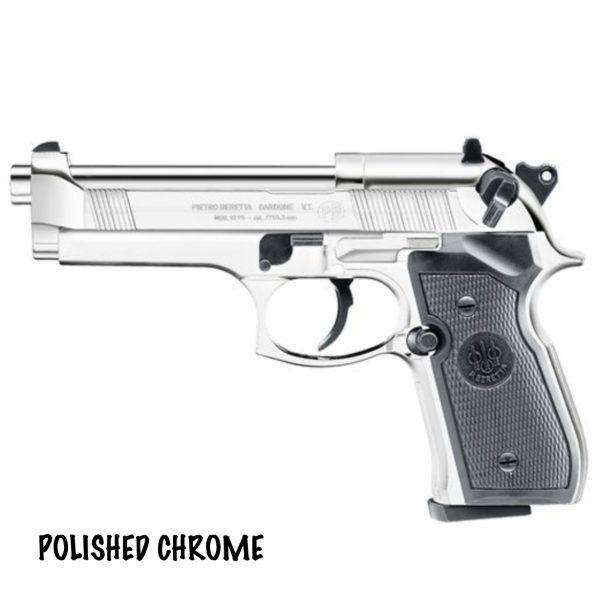 Beretta M92 FS Chrome