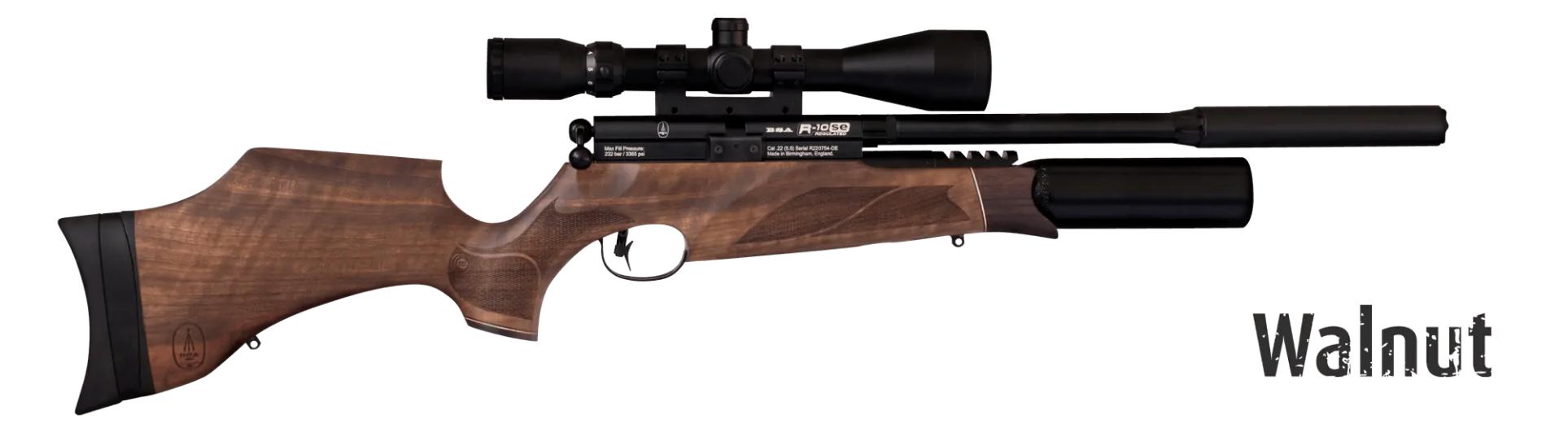 BSA R10 SE Super Carbine Walnut